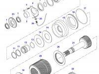 Диск фрикционный КПП муфта 4WD — 32618700