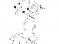 Вал рычагов навески трактора (H45101-) — 33232900