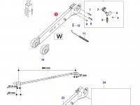 Правая тяга навески трактора (L=940, -N10135) — 35230000