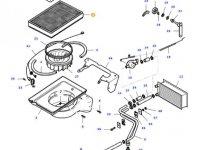Фильтр воздушный кабины для тракторов Massey Ferguson — 20531110