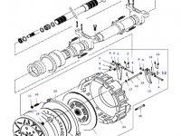 Диск сцепления КПП трактора Massey Ferguson — 218080