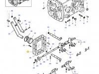 Крышка КПП трактора Massey Ferguson — 30341510