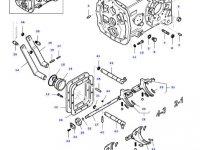 Вилка переключения передач КПП трактора Massey Ferguson — 30342320