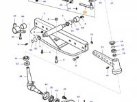 Левый рулевой наконечник трактора Massey Ferguson — 31644600