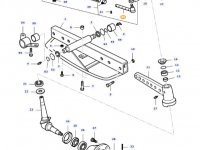 Правый рулевой наконечник трактора Massey Ferguson — 31644700