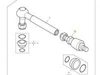 Шарнирный наконечник рулевой тяги трактора Massey Ferguson — 31798520