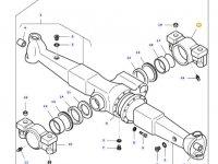 Задний суппорт переднего моста трактора Massey Ferguson — 31951800