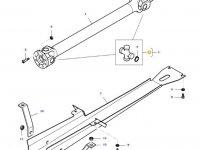 Крестовина карданного вала привода переднего моста трактора Massey Ferguson — 31970900