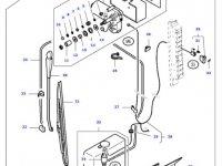 Моторчик щетки стеклоочистителя трактора Massey Ferguson — 32275700