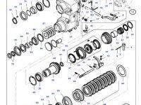 Фрикционный диск узла 4WD КПП трактора Massey Ferguson — 32618700