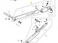 Телескопическая левая тяга навески трактора Massey Ferguson (L=900) — 32774020