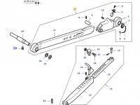 Телескопическая правая тяга навески трактора Massey Ferguson (L=900) — 32774120