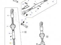Вилка раскоса навески трактора Massey Ferguson — 33014700