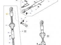 Шарнирная головка/винт раскоса навески трактора Massey Ferguson — 33015000