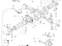 Правый поворотный кулак моста для тракторов Valtra — 34055300