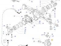 Правый поворотный кулак моста для тракторов Valtra — 34055310