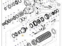 Шестерня реверса КПП трактора Massey Ferguson — 34289800