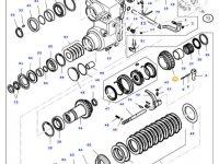 Шестерня реверса КПП трактора Massey Ferguson — 34290110