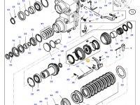 Вилка переключения передач КПП трактора Massey Ferguson — 34369010