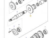 Шестерня вала полного привода КПП трактора Massey Ferguson — 34648500