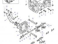 Вилка переключения передач КПП трактора Massey Ferguson — 34716200