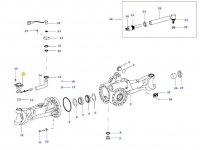 Датчик угла поворота колес трактора — 35027000