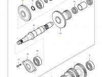 Шестерня вала полного привода КПП трактора Massey Ferguson — 35555600