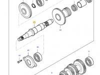 Вал полного привода КПП трактора Massey Ferguson — 35555700