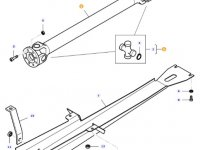 Карданный вал привода переднего моста трактора Massey Ferguson — 35599000