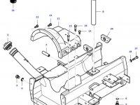 Топливный бак трактора Massey Ferguson — 35601300