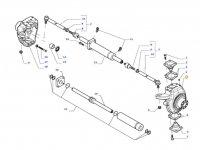 Правый поворотный кулак моста для тракторов Valtra — 35603900