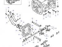 Коробку переключения передач (КПП) трактора Massey Ferguson — 35673700