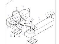 Дополнительный топливный бак трактора Massey Ferguson — 35946900