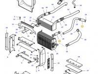 Патрубок радиатора двигателя трактора Massey Ferguson — 36290600