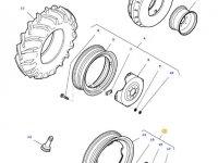 Передний колесный диск трактора Massey Ferguson (W8x32) — 36642300