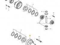 Корпус дифференциала приводного моста трактора Massey Ferguson — 37031500