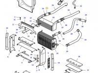 Патрубок интеркулера двигателя трактора Massey Ferguson — 37210500
