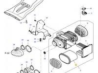 Воздушный фильтр двигателя трактора Massey Ferguson — 37352500
