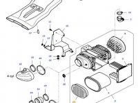 Вставка воздушного фильтра двигателя трактора Massey Ferguson — 37352700