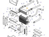 Интеркулер двигателя трактора Massey Ferguson — 37466800