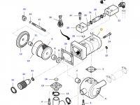 Насос гидравлический трактора Massey Ferguson — 37523000