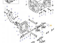 Вилка переключения передач КПП трактора Massey Ferguson — 45357410