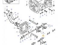 Вилка переключения передач КПП трактора Massey Ferguson — 45357510