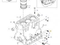 Датчик давления масла в двигателе трактора Valtra — 619400