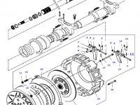 Диск сцепления КПП трактора Massey Ferguson — 82224400