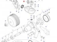 Термостат двигателя трактора Challenger — 836015156