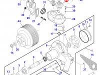 Термостат двигателя Sisu Diesel трактора Massey Ferguson — 836331590