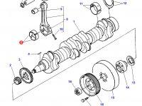 Вкладыши шатунные(стандарт) для двигателя Sisu Diesel трактора Challenger — 836336302