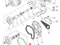 Ремкомплект водяного насоса трактора Challenger — 836340257