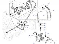 Фильтр гидравлического масла КПП трактора Massey Ferguson» — 836536797